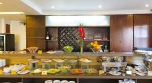 Кухня в отеле Старлет