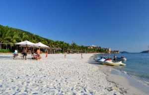 Пляжи острова Винперл