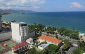 Вид из номера в отеле Nha Trang Palace