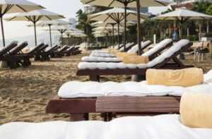 Пляж отеля Mishelia