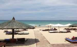 Пляж гостиницы