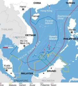 Конфликт в 1988 году из-за островов Спартли
