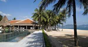 Пляж отеля Эвасон Ана Мандара Нячанг Резорт