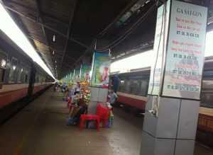 Поездка на поезде из Хошимина в Нячанг