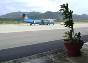 Самолётом из Хошимина на остров Кондао