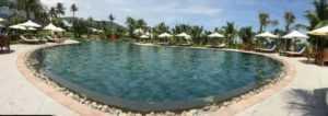 Бассейн в отеле Riviera Beach Resort