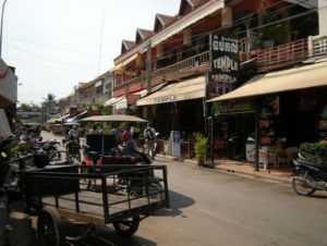 Городок Сием-Рип в Камбодже