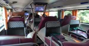 Спальный автобус из Хомишина в Муйне