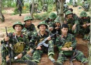 Армия Вьетнама подчинена Центральной Военной Комиссии