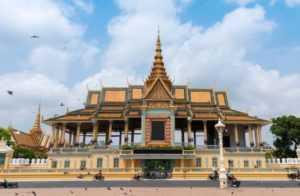 Королевский дворец в Пномпень