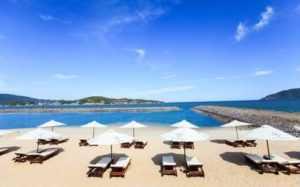Пляж отеля Paragon Villa