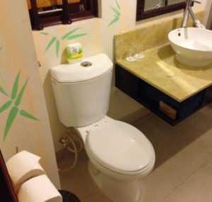 Туалет в Bamboo Village