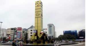 В Халонге построили часовую башню