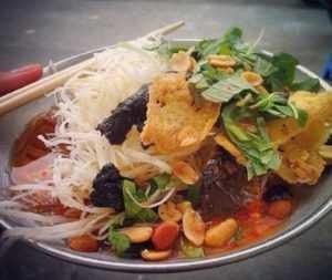 Салат из сушеной говядины