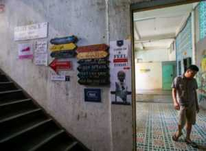В Хошимине кофейни поднимаются вверх по лестнице