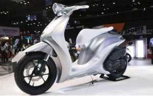 Во Вьетнаме показан концептуальный мотоцикл Yamaha Glorious