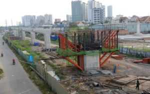 Проблемы со строительством метро в Хошимине