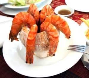 Морепродукты – это «конёк» местных ресторанов