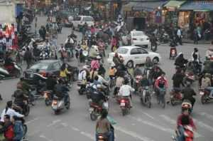 Ситуация на дорогах Вьетнама весьма опасная