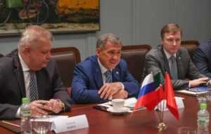 Президент Татарстана побывал с визитом во Вьетнаме