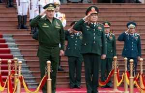 Вьетнам и Россия наметили план военных учений