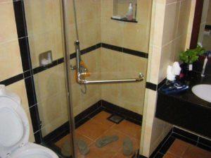 Ванная комната в Панданус Резорт