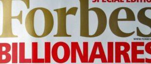 В список Forbes вошли четыре миллиардера из Вьетнама