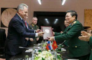 Подписана дорожная карта военного сотрудничества Вьетнама и России