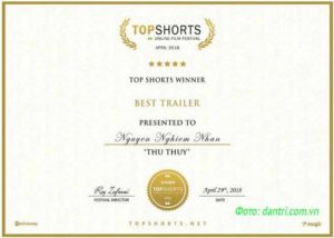 Двумя премиями «Top Shorts» награжден вьетнамский фильм