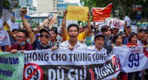 Во Вьетнаме проходят массовые демонстрации протеста