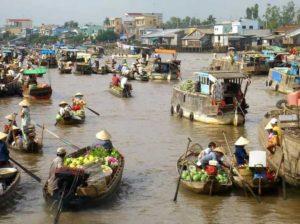 Проблемы с эрозией берегов в дельте Меконга