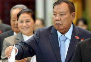 Президент Лаоса находится с визитом во Вьетнаме