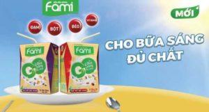 Новый соевый напиток Fami Go от Vinasoy во Вьетнаме