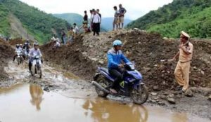 Наводнения на севере и в центре Вьетнама