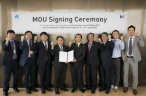 Компании HBC и KT Corp подписали соглашение