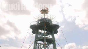 В городе Sa Dec открылась цветочная смотровая башня