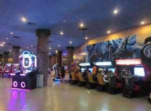 Игровые автоматы в парке Винперл