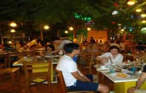 Ресторан в отеле Галиот