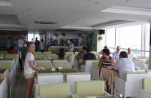 Ресторан в отеле Руби