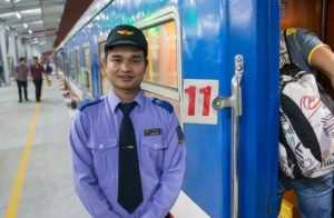 Поездка на поезде из Хошимина в Ханой