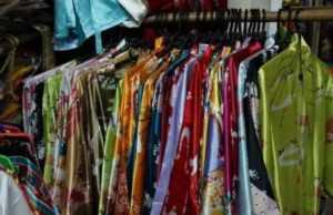 Одежда из натурального шелка во Вьетнаме