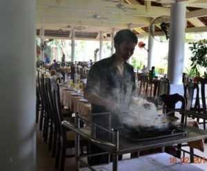 Ресторан в Nha Trang Lodge 4