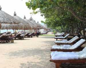 Пляж рядом с отелем Руби