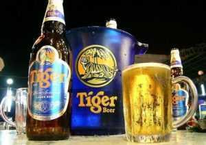 Вьетнамцы очень любят сингапурское пиво Tiger