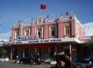 Железнодорожный вокзал в Хюэ