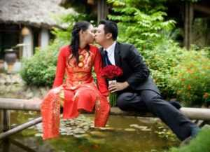 После свадьбы во Вьетнаме