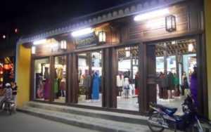 В Хойане много портных мастерских