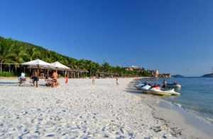 Пляж острова Винперл