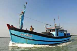 Рыбалка троллингом во Вьетнаме