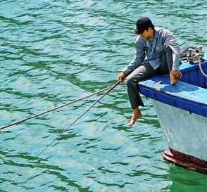 Рыбалка в отвес во Вьетнаме